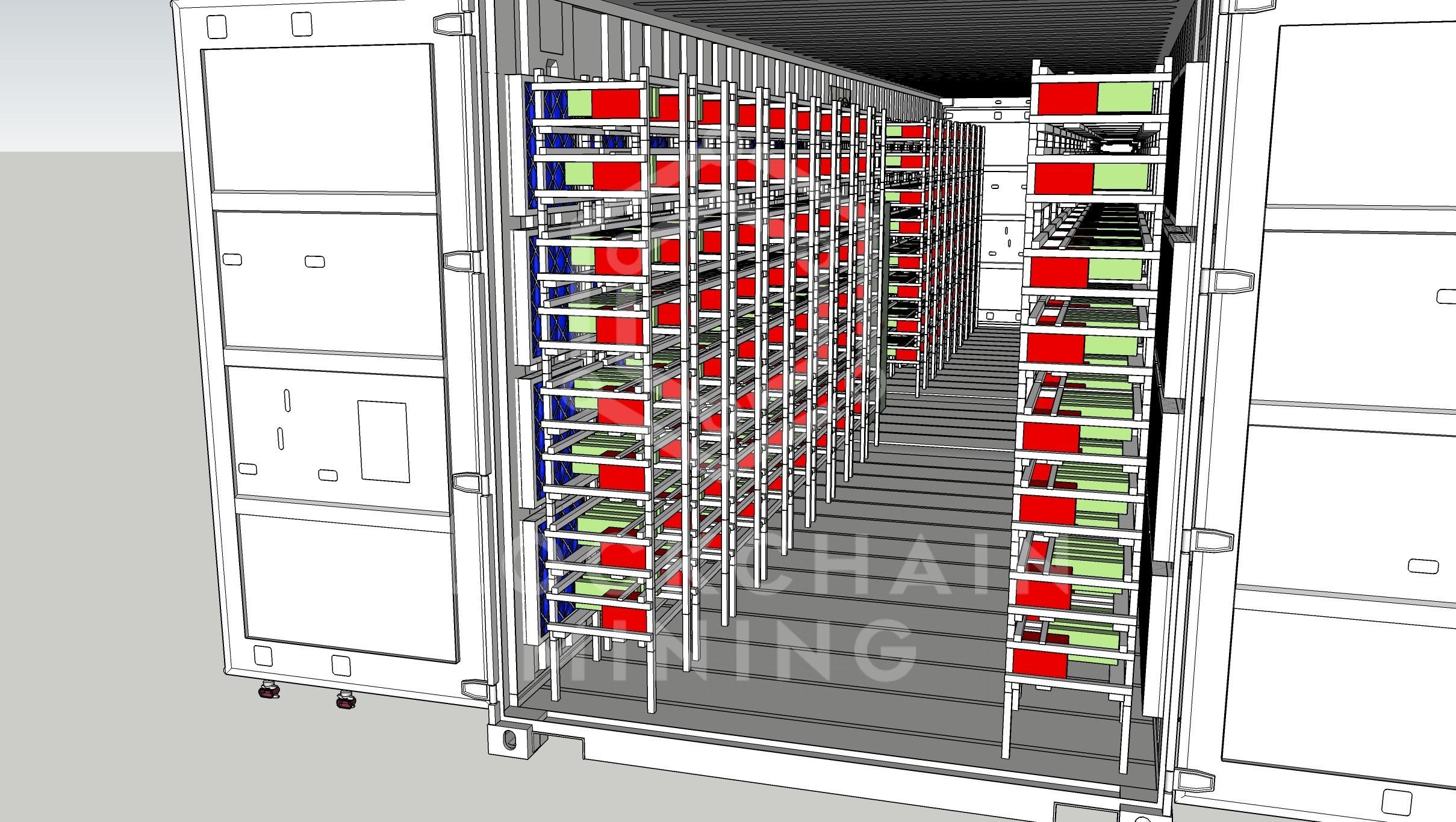 Container 40 puerta 2